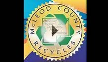 McLeod County Solid Waste Management Recycling Plany Tour
