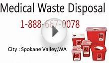 Medical waste disposal Spokane Valley WA,Sharps container
