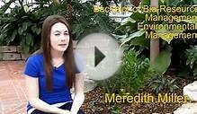 Meredith Miller - Bachelor of Bio-Resource Management