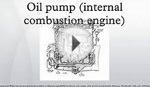 Oil pump (internal combustion engine)