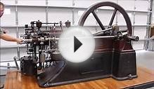 One of the first Four Cycle Gas Engines - The Otto Silent