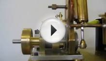 Opal Engine. Live Steam Single Cylinder Self Starting Video 1