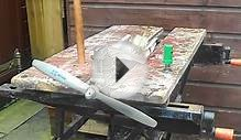 OS FS 40 Four Stroke Model Aero Engine First time Start In