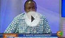 Sunday Live Interview: E-Waste Management