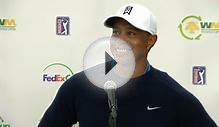 Tiger Woods news conference before Waste Management - PGA