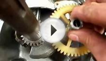 timing a 4 stroke valve train
