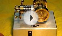 """TINY"" Small 4 stroke internal combustion engine. 2nd Video"