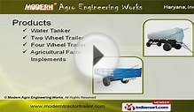 Tractor Trailer by Modern Agro Engineering Works, Karnal