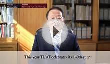 TUAT: Message from president of TUAT,Dean of Institute of
