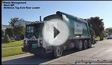 Waste Management: Mack MR/ Mcneilus Tag-Axle Rear Loader