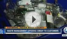 Waste management offering credit to costumers