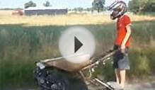 Wheelbarrow Internal Combustion Engine – Poland Style
