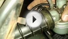 Working of Carburetor in Petrol Engine- Motorcycle(4
