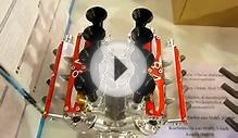 World´s smallest V8 and V12 Combustion Engines -- Close Look