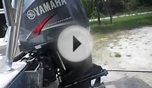 Yamaha 225 HP 4 stroke with 130: hours